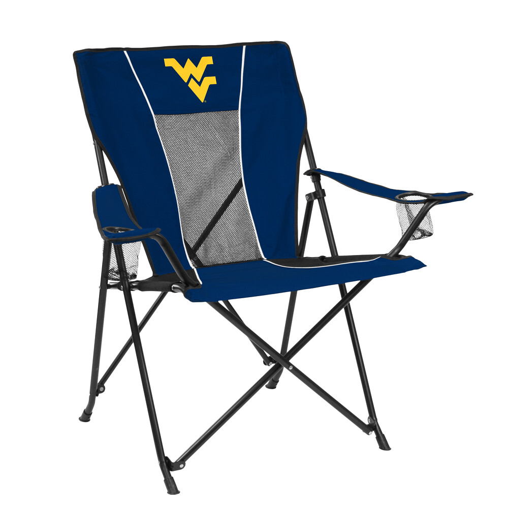 West Virginia GAME TIME TailGate/Camping Chair