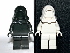 Lego Black With White Or White With Black?