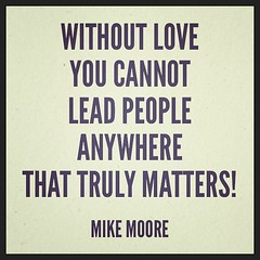 Leading with love!