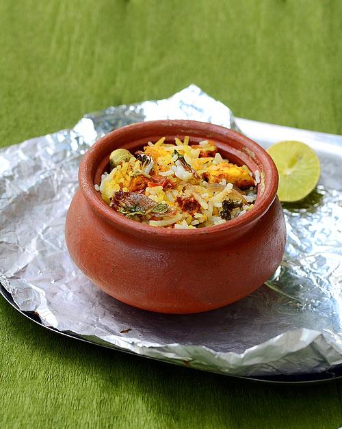 clay pot cooking biryani Matka Veg biryani/Pot biryani recipe