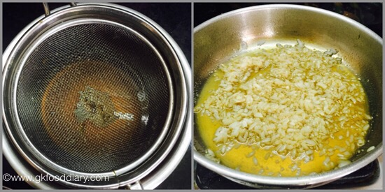Jaggery Poha for babies & toddlers -step 3