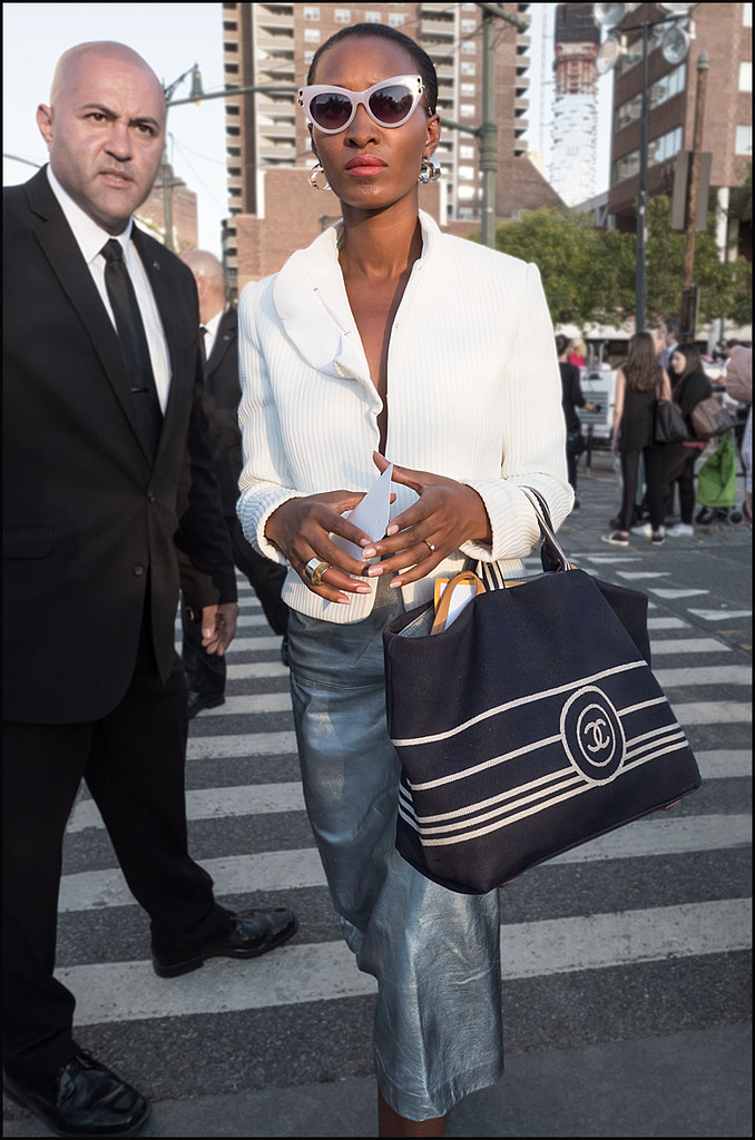 Arriving at Givenchy NWFW 9-2015