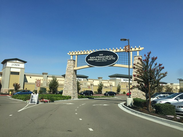 San Francisco Premium Outlets (in Livermore??)