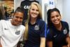 Luize, Dani e Calan by Santos Futebol Clube