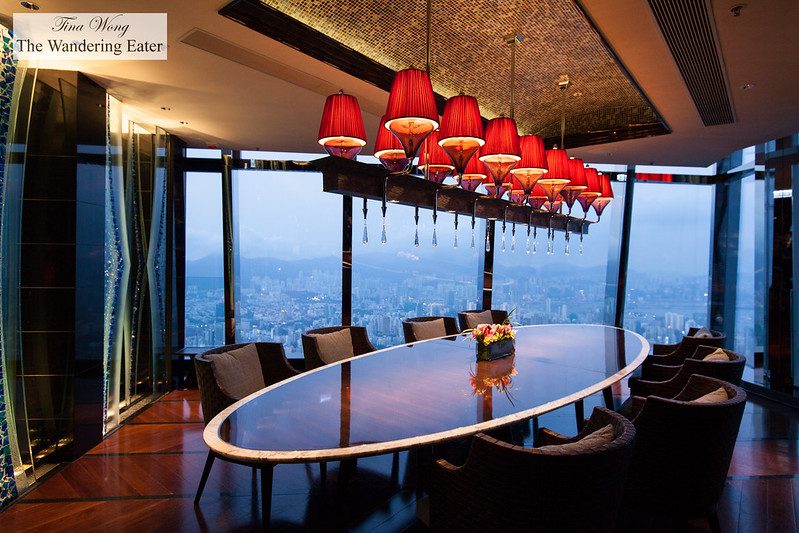 Ritz carlton hong kong amazing presidential suite for Best private dining rooms hong kong