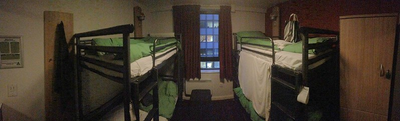 4-person room. YHA London Oxford Street.