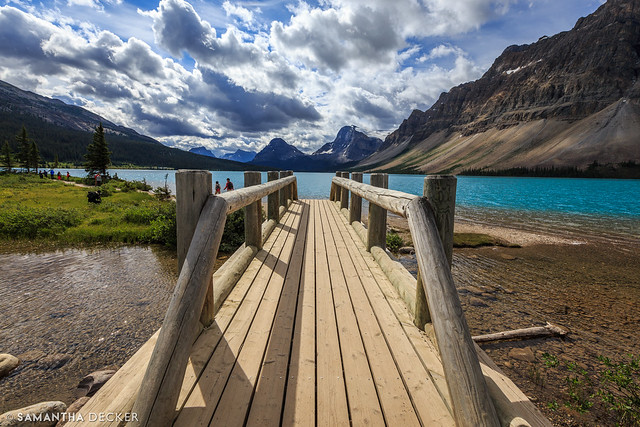 The Bridge at Bow Lake