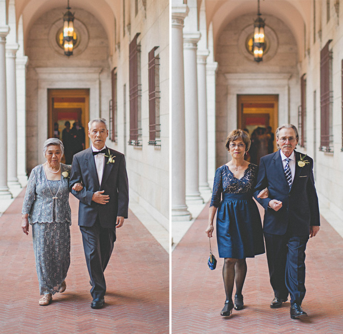 wedding processional grandparents