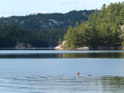 Killarney PP - zwemmen in George Lake