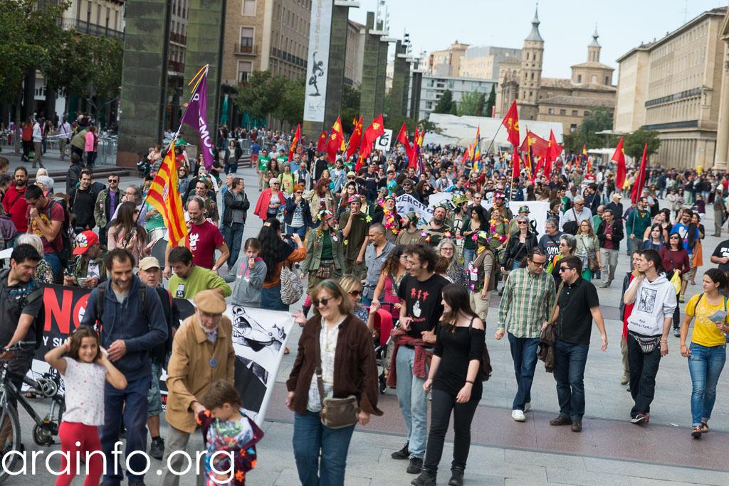 Crónica de un buen trabajo. La campaña anti-OTAN en Zaragoza