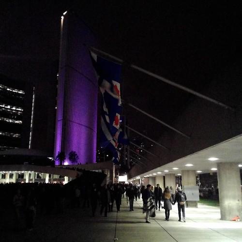 Toronto flags on the square #toronto #sbnto #flags #cityhall #nathanphilipssquare