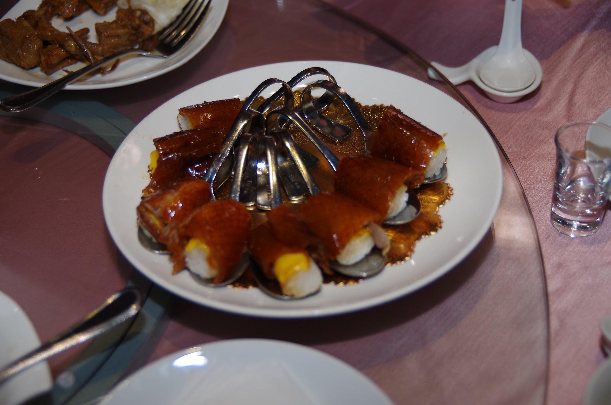 宜蘭蘭城晶英吃櫻桃鴨