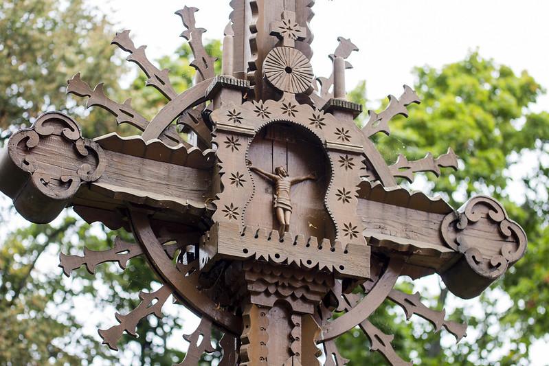 Krzyż w Kurii Biskupiej, Kowno - Kaunas, Lithuania