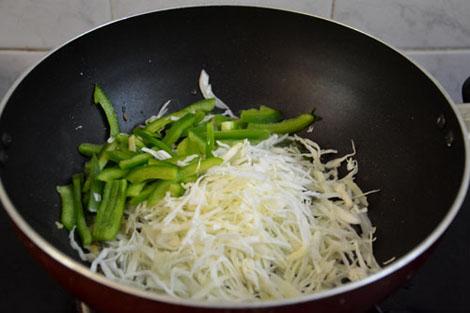 Cabbage Capsicum Aval