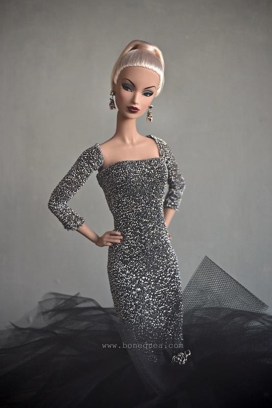 Outfit exclusivo de la Convención Nacional de Coleccionistas de Barbie en España, diseñado por Victoria Designs