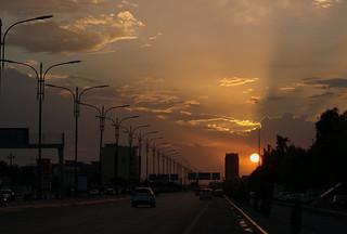 Erbil - Hawler - Kurdistan - sunset