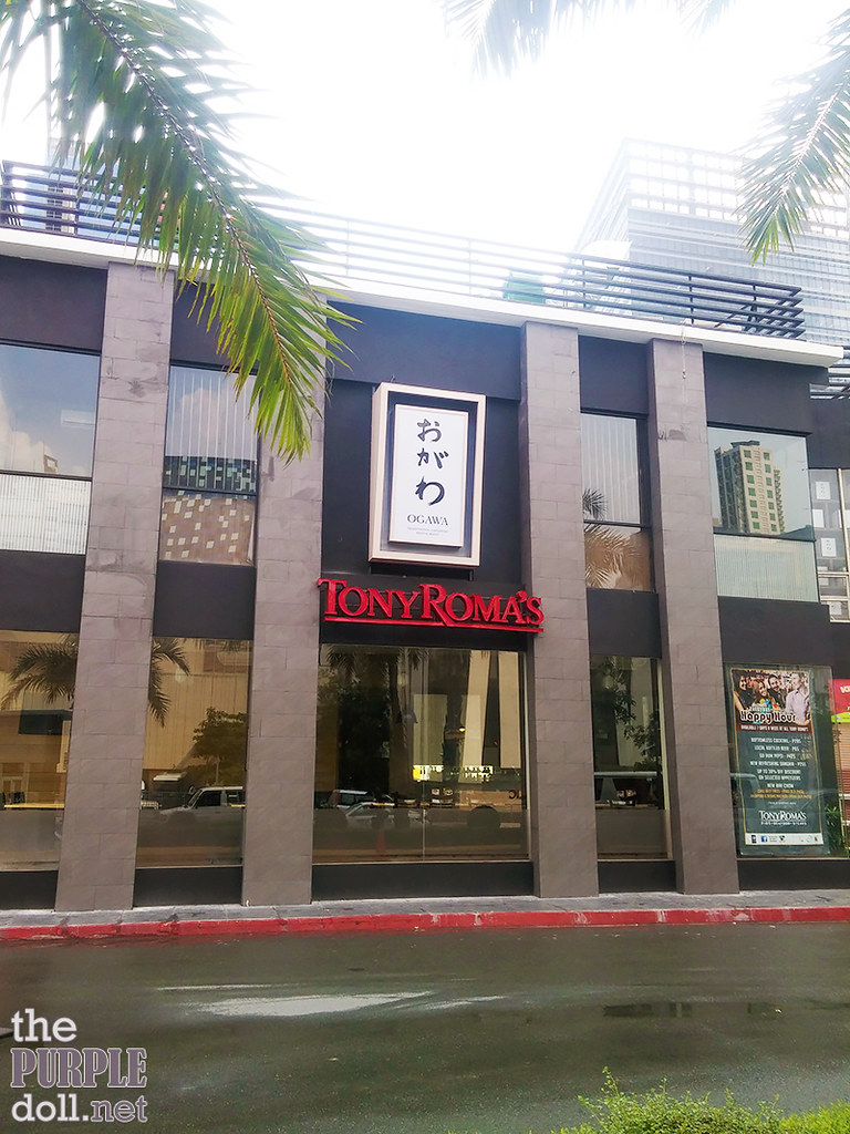 Ogawa Traditional Japanese Restaurant at The Fort Strip BGC