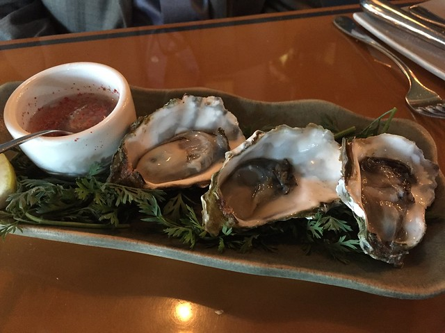 Oysters on the half shell - Garcon