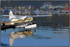 Seaplane at Lake Union