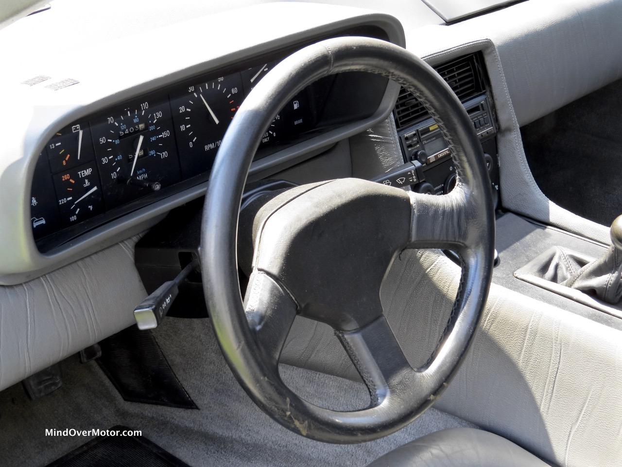 Turbocharged Delorean Interior