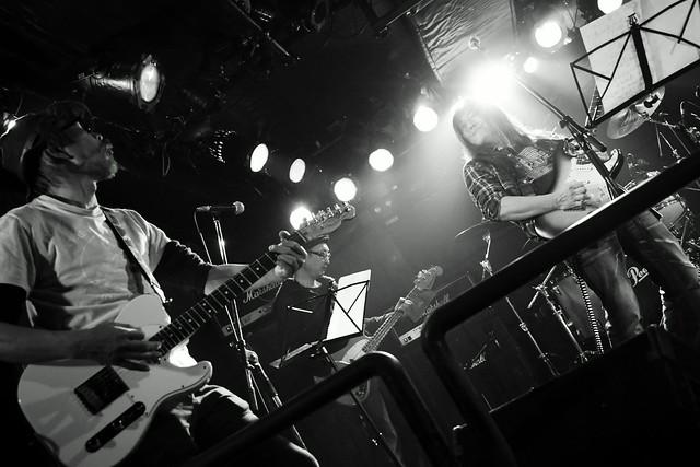 ファズの魔法使い live at Outbreak, Tokyo, 12 Nov 2015. 123