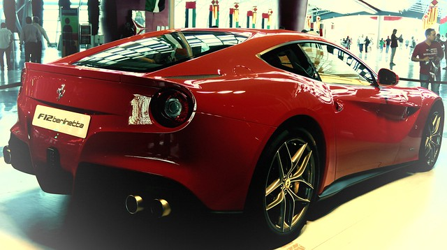 f12 ferrari world