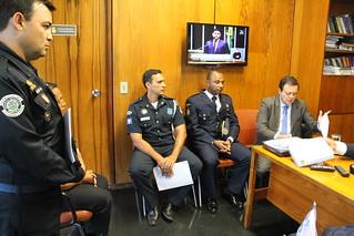Representates das Guardas Munipais reunida com bancada do PTB