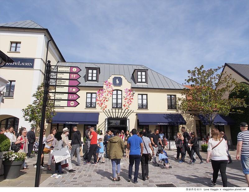 【巴黎 Paris】逛法國Outlet La Vallée Village河谷村  超划算Burberry大衣及戰利品分享 @薇樂莉 ♥ Love Viaggio 微旅行