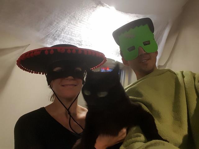 Zoro and Frankenstein