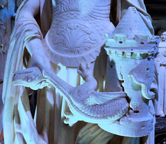 Nantes - Cathedral of St Peter - Tomb of Francis II - Courage Expels The Dragon