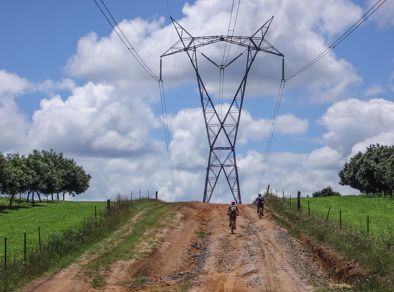 Power Line Track