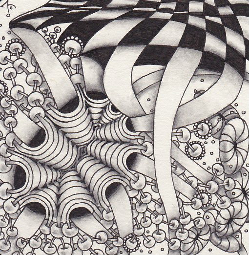 One Zentangle a Day - Day #3