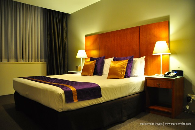 Bedroom at Park Regis Griffin Suites