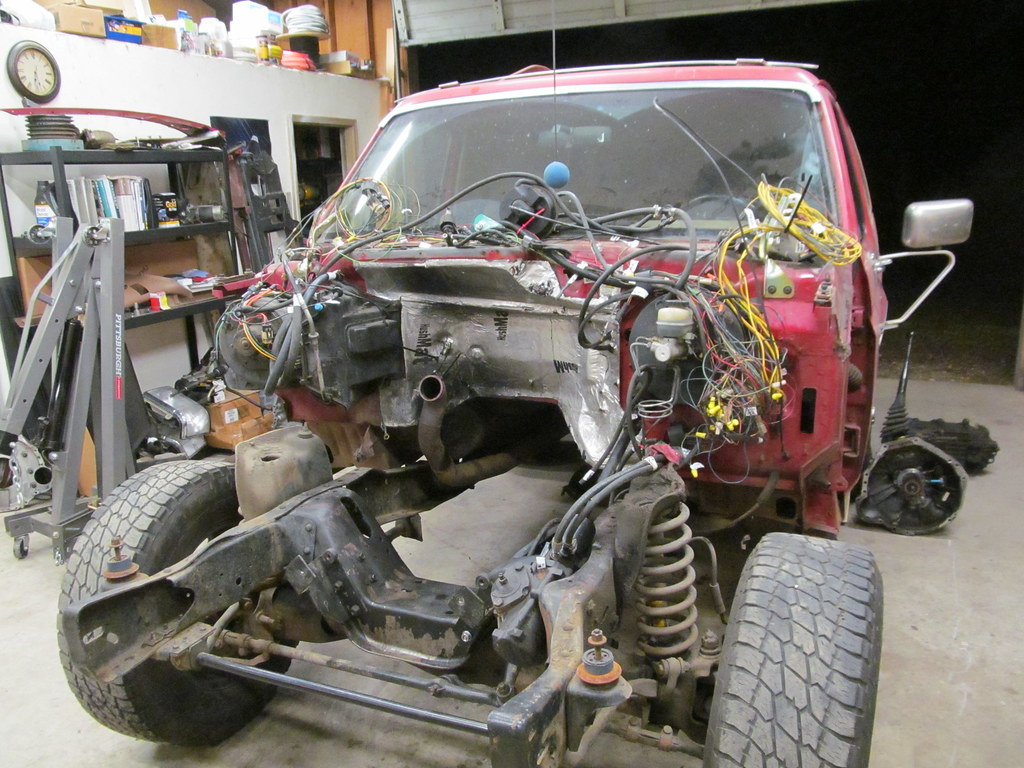 1990 Ford Bronco 4bt Swap Page 3 1979 Wiring Diagram Http Wwwsupermotorsnet Registry Media Today Was A Good Day