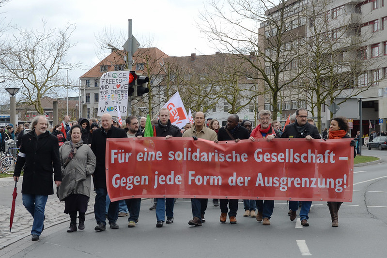 Demo gegen Rassismus Oldenburg
