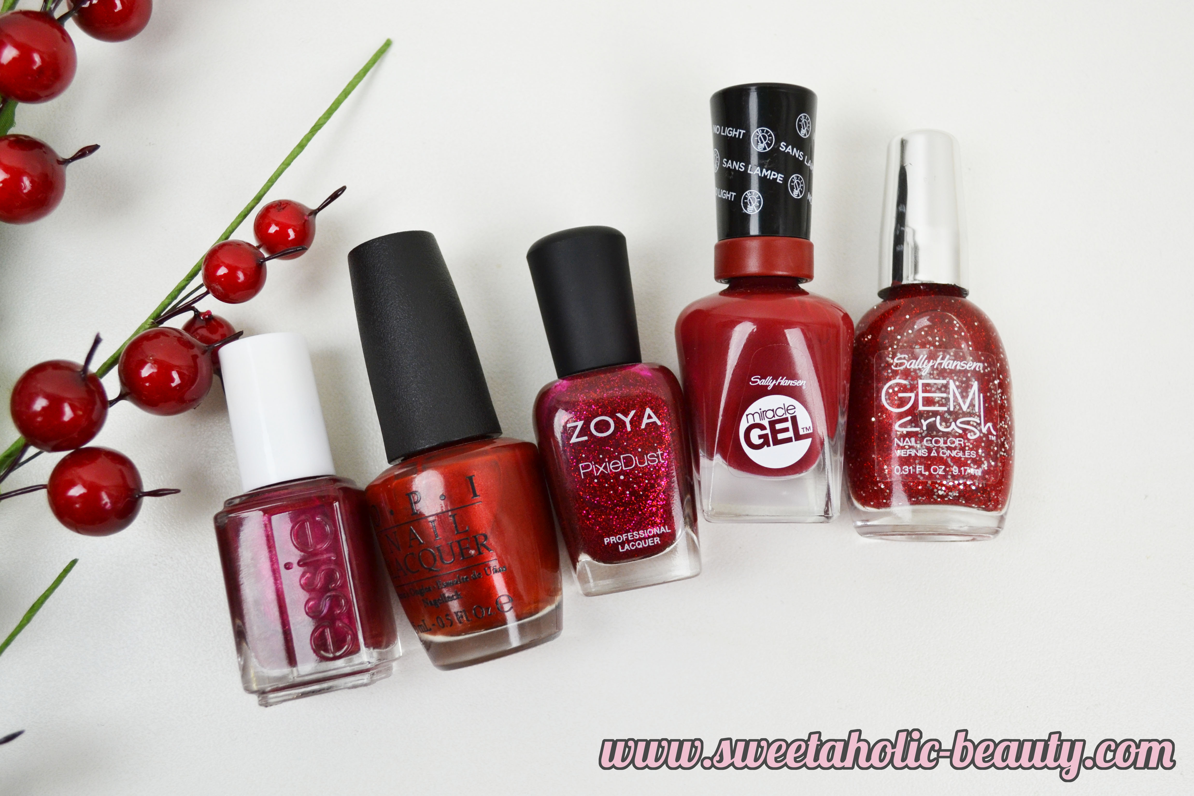 The Perfect Red: Nails - Sweetaholic Beauty