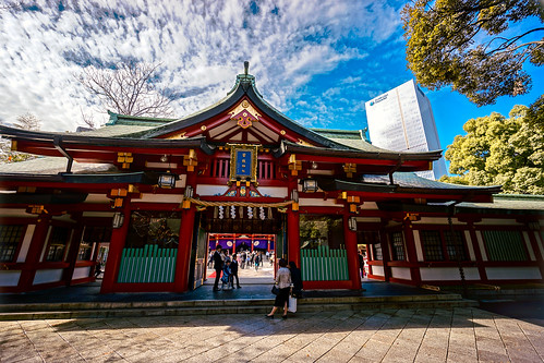 The Shrine in Tokyo Downtown Core - Hie Shrine (山王日枝神社) Japan