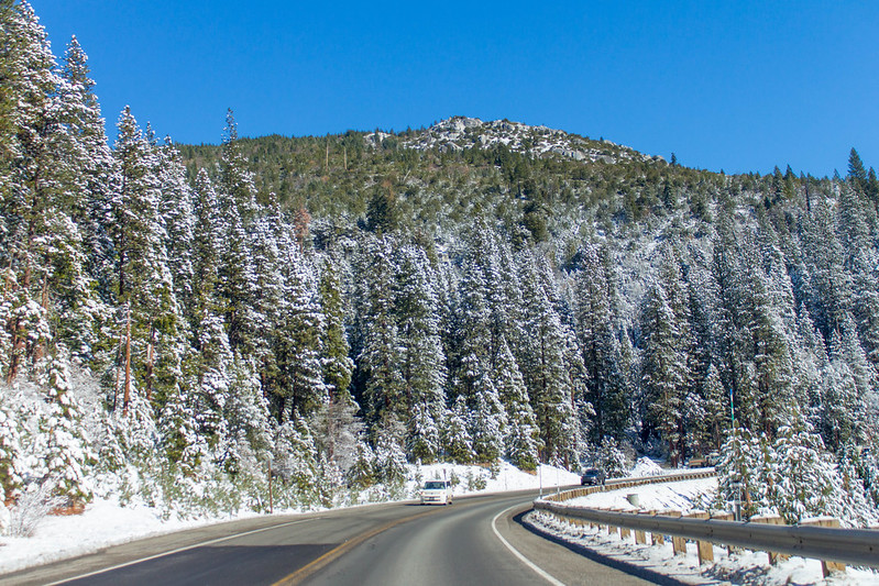 Echo Summit and Highway 50