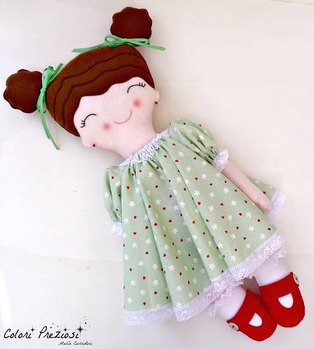 Felt doll for Aurora