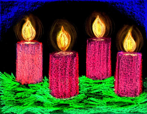 Advent Candles Week 4
