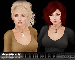 !NFINITY Moon Necklace AD