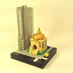 Micropolis Cathedral block