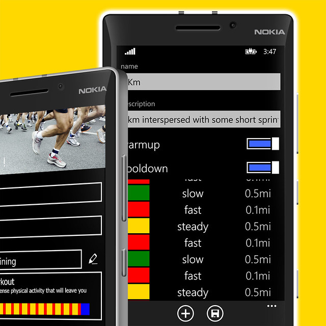 Caledos Runner 3.7 - Interval Training editor
