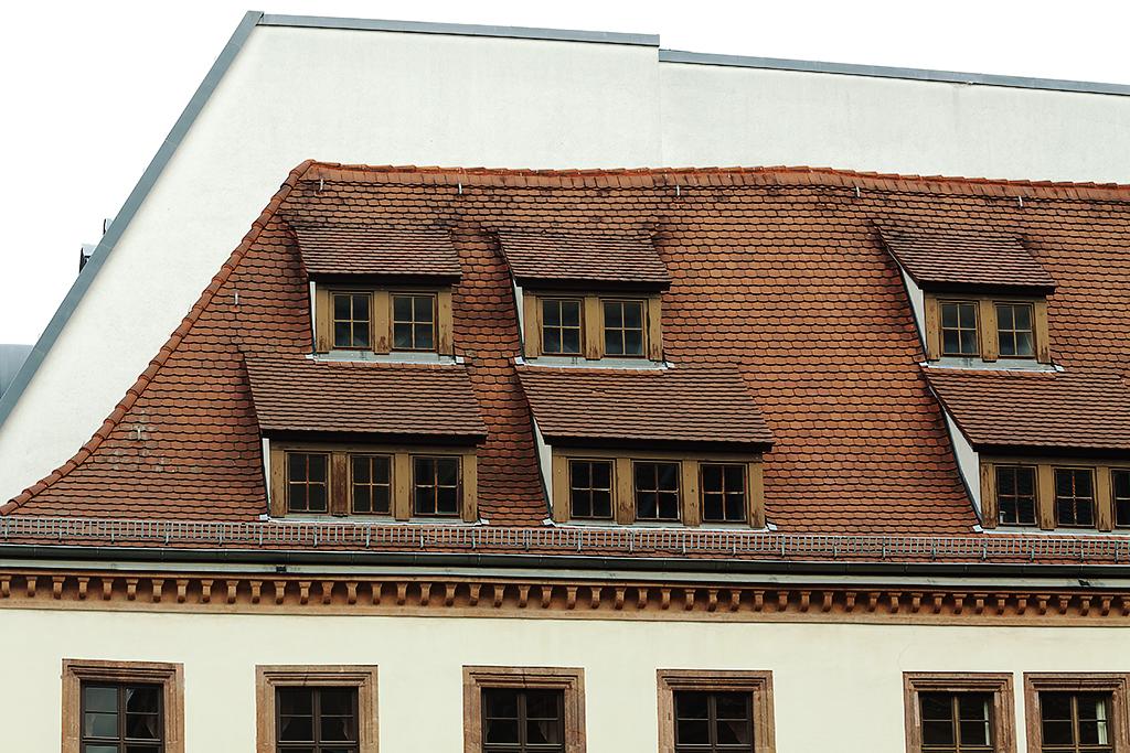 Roof lines--Leipzig