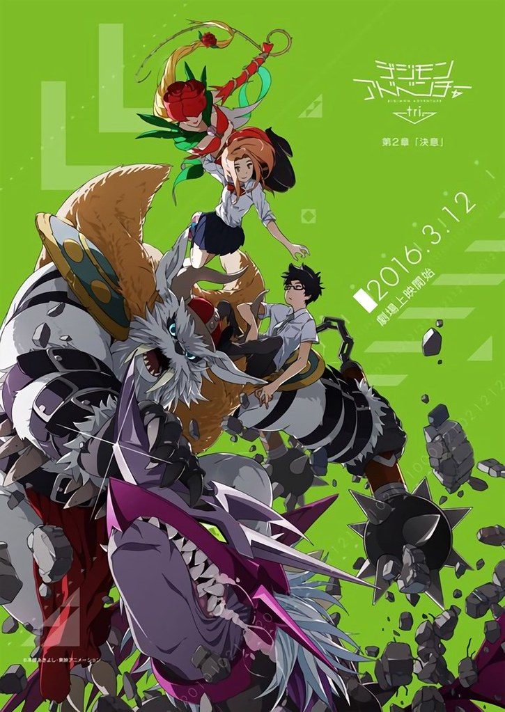 Digimon Adventure Tri: Ketsui ganha o seu pôster promocional