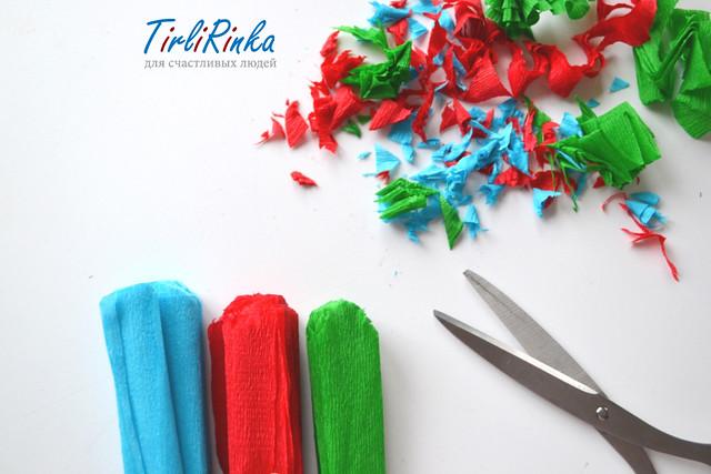 DIY: paper bolls/ tirlirinka