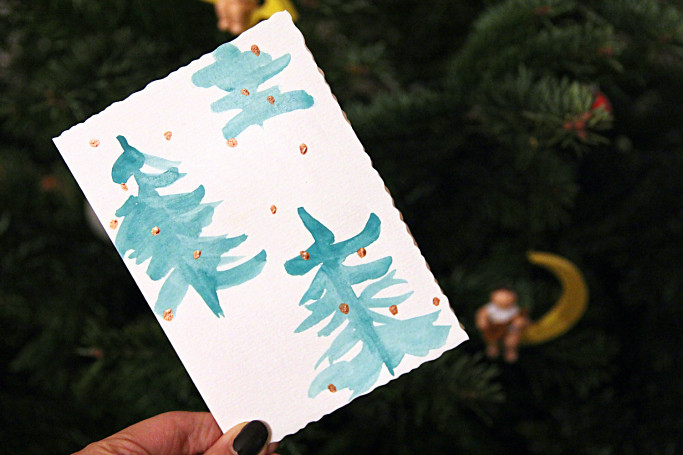 DIY Christmas Cards I Style By Charlotte