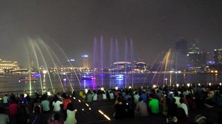 Singapore ~ Marina Bay Sands Light Show
