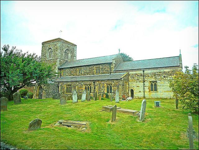 Aldbrough Church ..