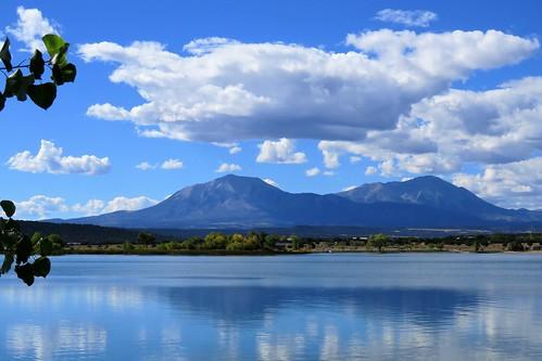 lathropstatepark coloradoparkswildlife walsenburg colorado martin lake clouds spanishpeaks mountains mountain lathrop statepark
